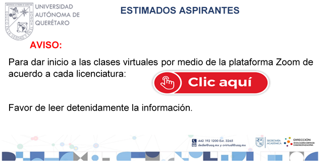 Link para clases zoom