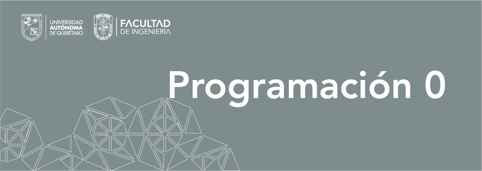 Programación 0