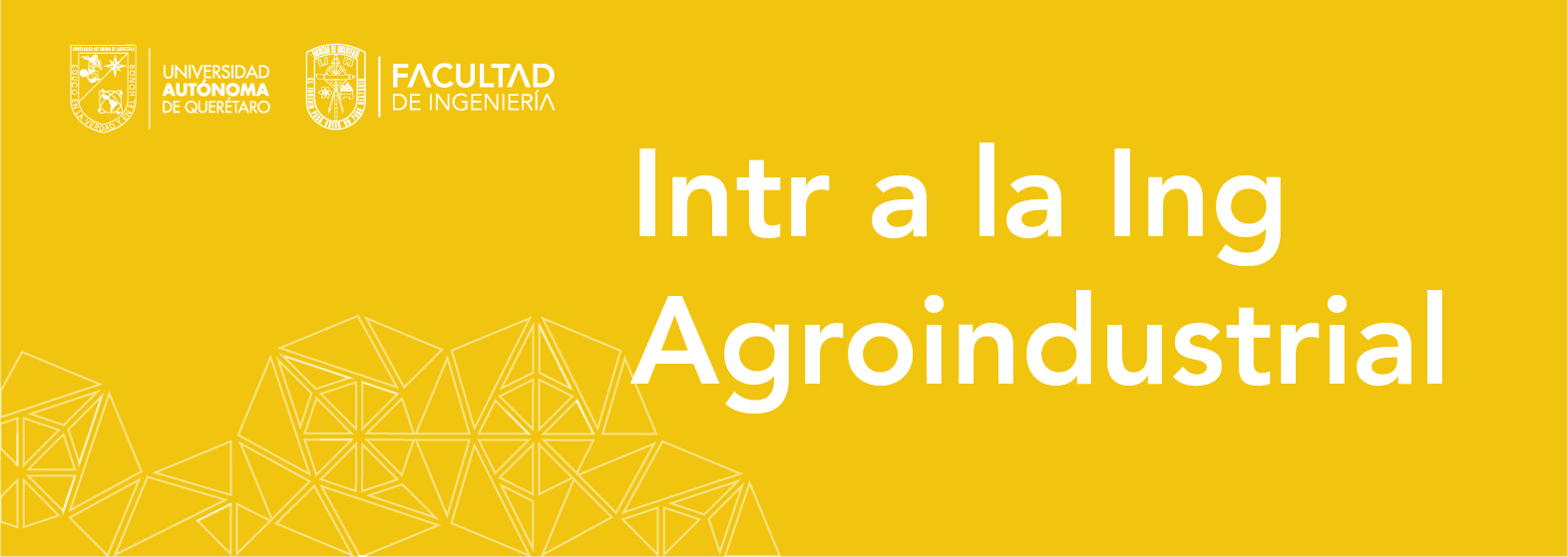Intr. a la Ing. Agroindustrial
